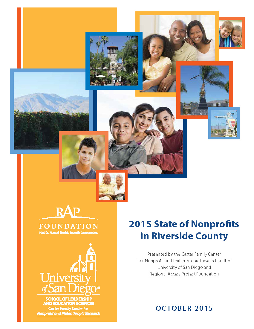 State of Nonprofits in Riverside County – 2015